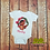 Thumbnail: Baby polynesian princess onsie, with personalization available, sizes 3m-24m