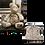 Thumbnail: Memory bear, memorial bear, personalized bear, keepsake bear, rememberance bear,