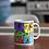 Thumbnail: Comic strip 11oz coffee mug, superheros, gift by Sew Sweet Pea's