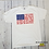 Thumbnail: Pledge of Allegiance white tee, Short sleeved shirt