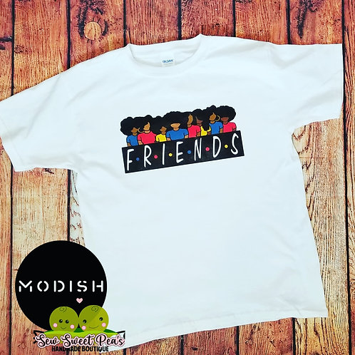 Friends Adult Tshirts Sizes S-XL, short sleeved,
