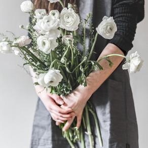 心に花を持たせよう。