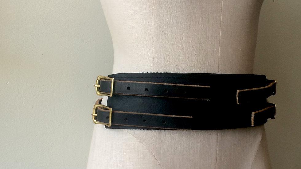 'Receiver'- Fetish Wear Leather Belt