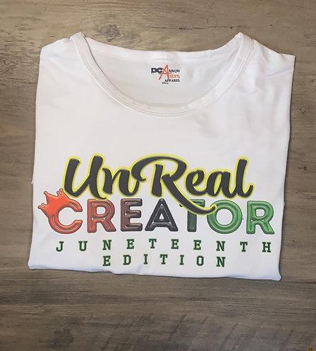 UnReal Creator Juneteenth T-Shirt
