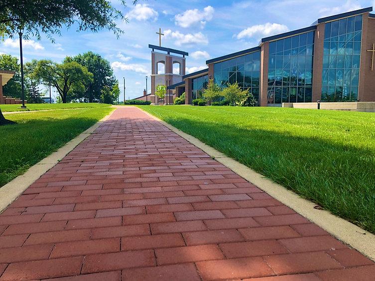 Walkway to Chapel