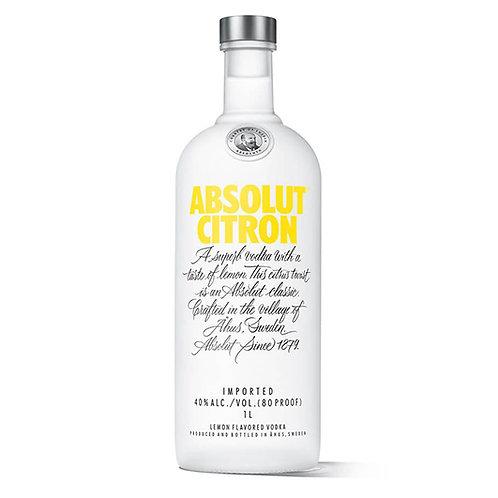 Absolut Vodka Citron 100cl