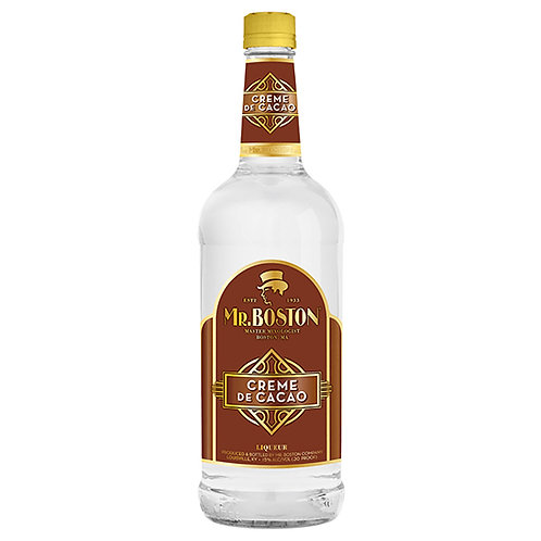 Mr. Boston Creme de Cacao White 1L