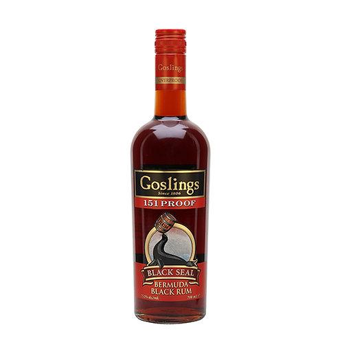 Gosling's Black Seal 151 Proof Rum 100cl