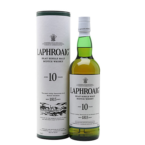 Laphroaig 10 Years Old Single Malt Scotch Whisky 100cl