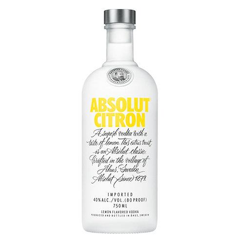 Absolut Vodka Citron 75cl