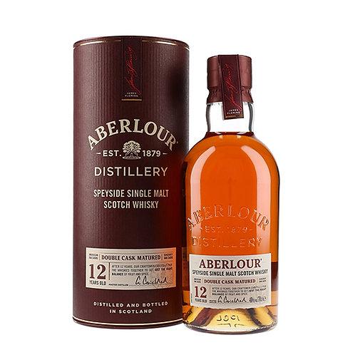 Abelour 12 Years Old Single Malt Double Cask Scotch Whisky 75cl