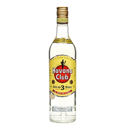 Havana Club 3 Anos Anejo Rum 100cl