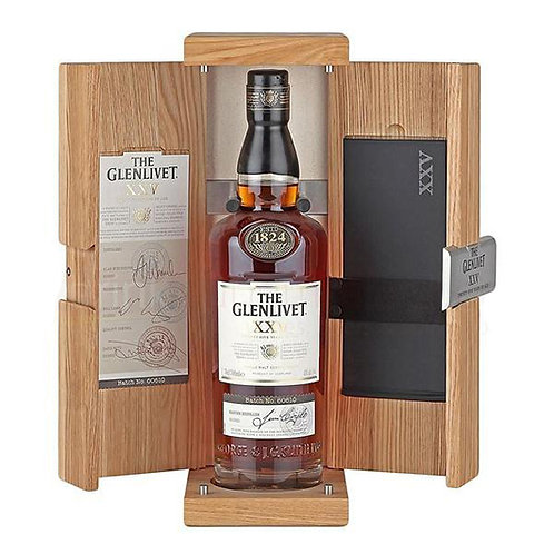The Glenlivet 25 Years Old single Malt Scotch Whisky 70cl