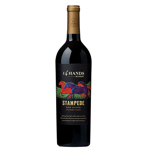 14 Hands Stampede Bold Red Blend 75cl