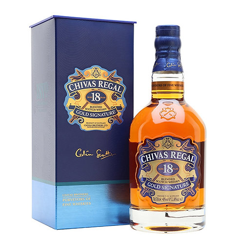 Chivas 18 Years Old Blended Scotch Whisky 75cl
