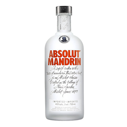 Absolut Vodka Mandrin 75cl