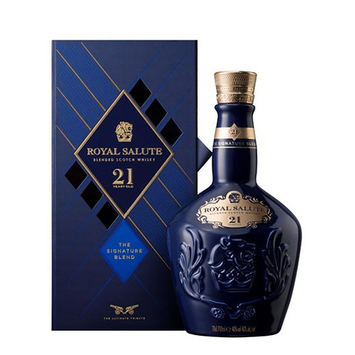 Royal Salute by Chivas 21 Years Old Blended Scotch Whisky