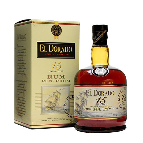 El Dorado 15 Years Old Rum 75cl