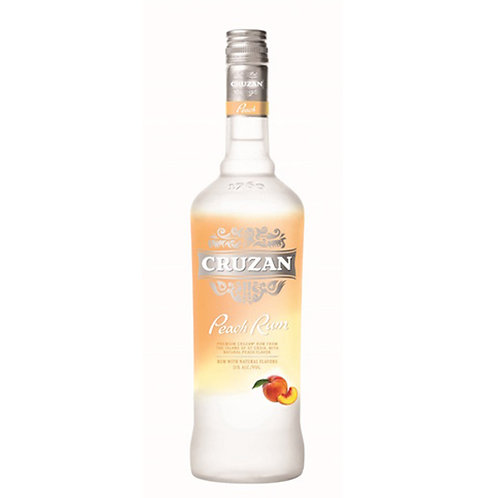 Cruzan Peach Rum 75cl