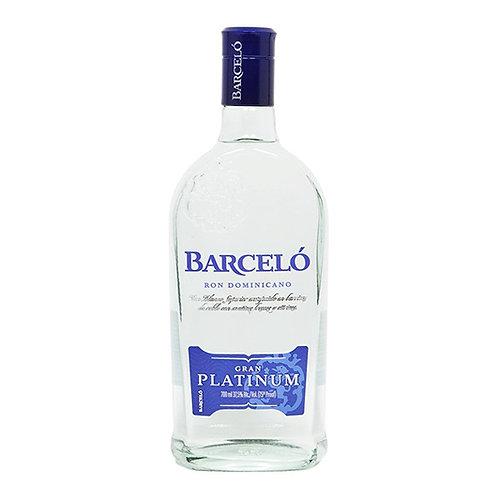 Barcelo Gran Platinum Rum 75cl