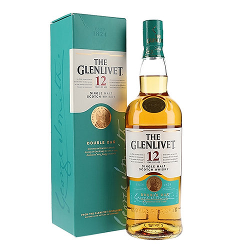 The Glenlivet 12 Years Old Single Malt Scotch Whisky 100cl