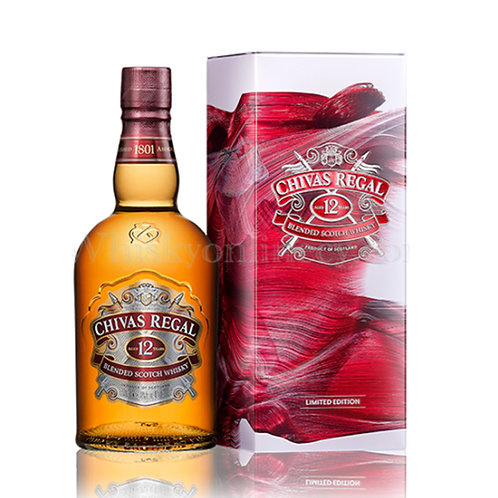 Chivas 12 Years Old Blended Scotch Whisky 75cl Giftpack
