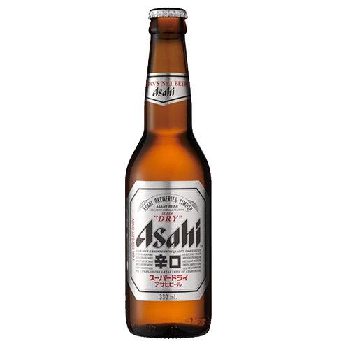 Asahi Japanese Beer Extra Dry 12oz Case 24 blts