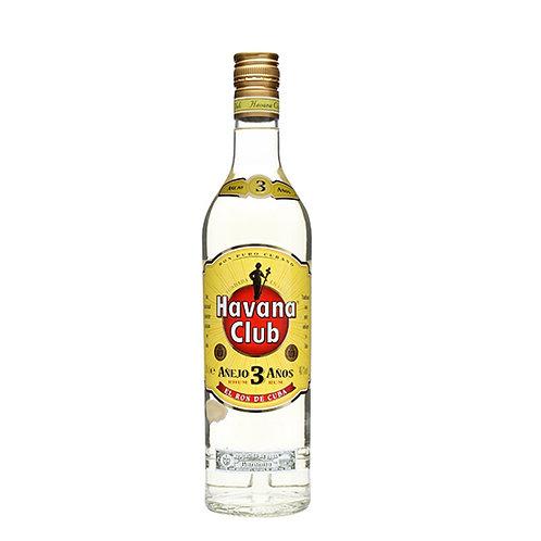 Havana Club 3 Anos Anejo Rum 75cl