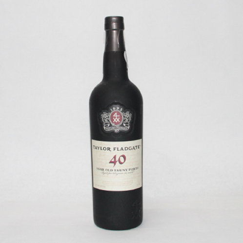 Taylor Flatgate 40-Years Old Tawny Port 75cl