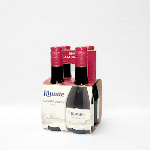 Riunite Red Lambrusco 4-pack  18.7cl each