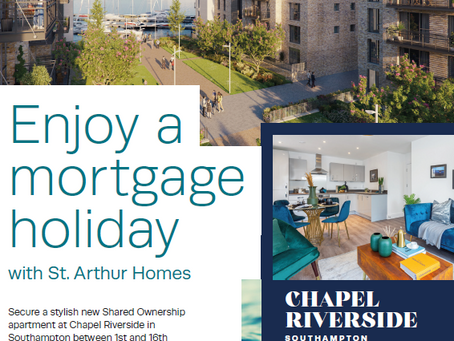 Enjoy a mortgage holiday with St. Arthur Homes