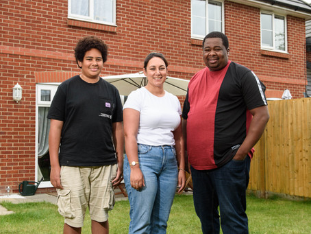 FIRST TIME BUYERS ACHIEVE GOAL OF 100% OWNERSHIP WITH ST. ARTHUR HOMES