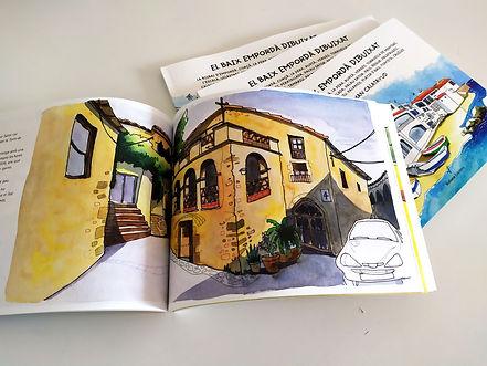 El Baix Empordà dibuixat