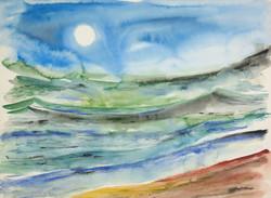 48 moonlight sea 22x30 web