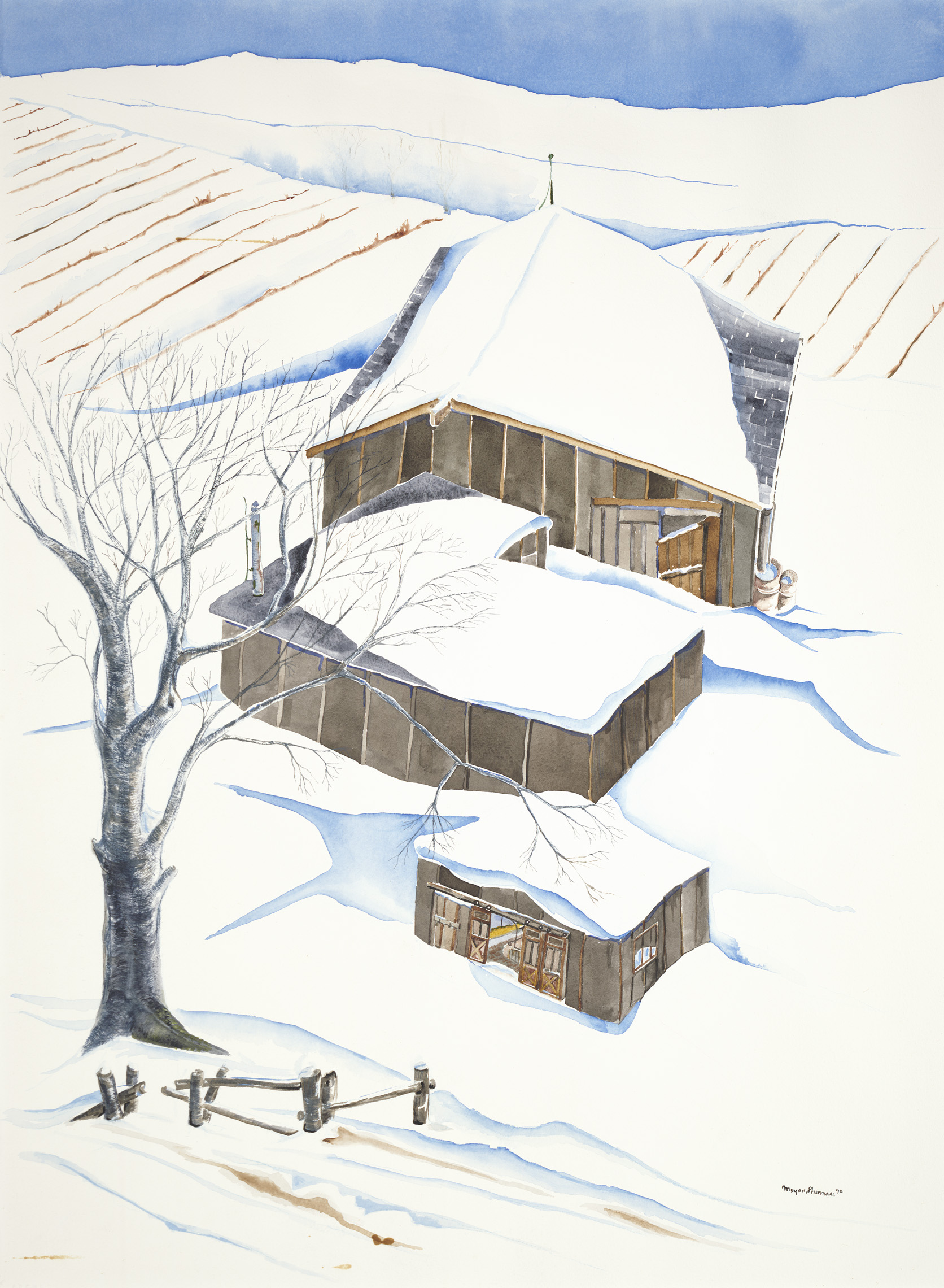 sherman 3 winter farm 22x30A1