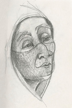 102 veiled woman 6x9 web