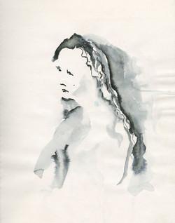 19 woman in bleading ink 11x14 web