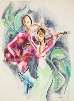 70 musicians with guitars 22x30 web