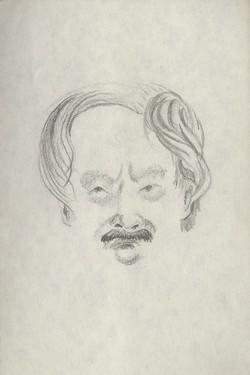 72 mans face sketch 6x9 web