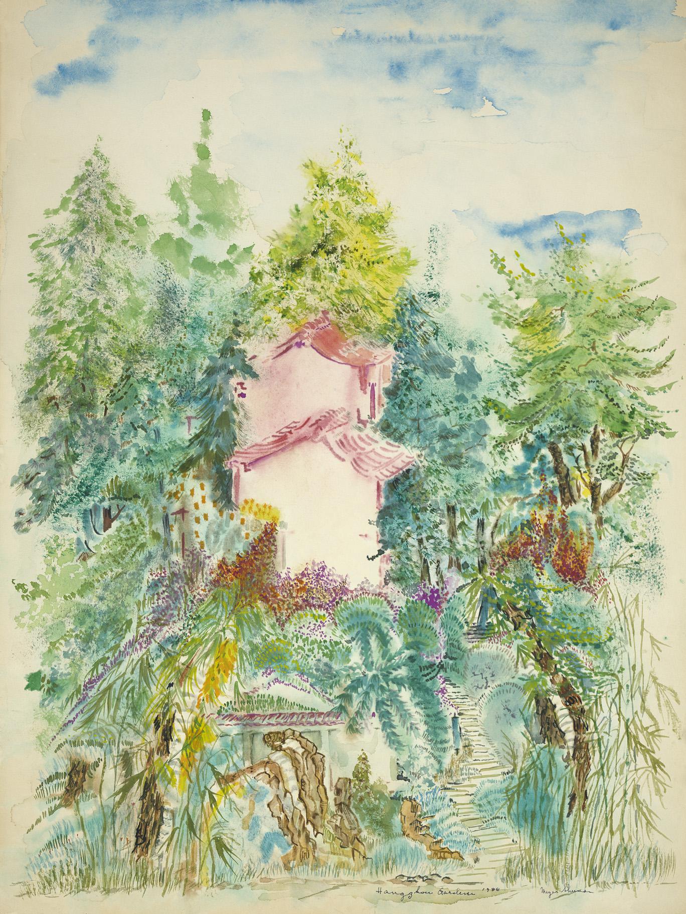 sherman 24 hanzou gardens 18x24A3