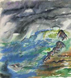 sherman 45 shoreline 14.5x16A1