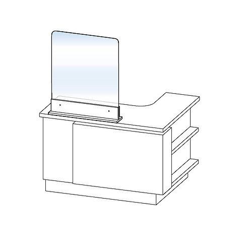 Separador para mesa de recepción (sin apertura)