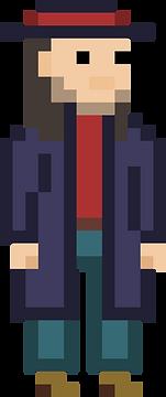 pixel art, pixel, ben rassell