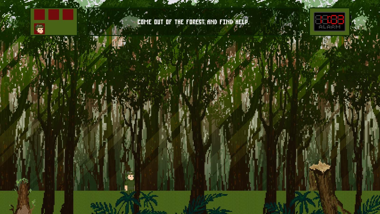 pixel-art, jungle