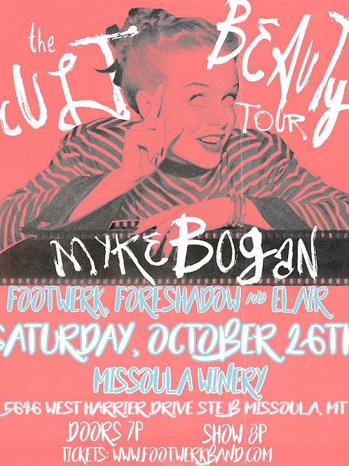 Myke Bogan / Footwerk / Foreshadow & Elair @ Missoula Winery 10/26/19