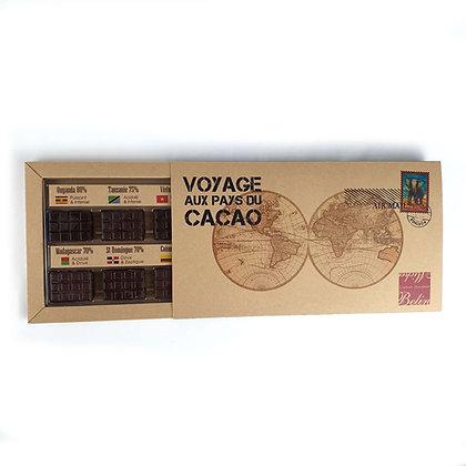 Coffret Chocolat Voyage Michel Belin 170gr