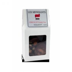 Mendiant Noir + Mendiant lait chocolat sans sucre 300gr