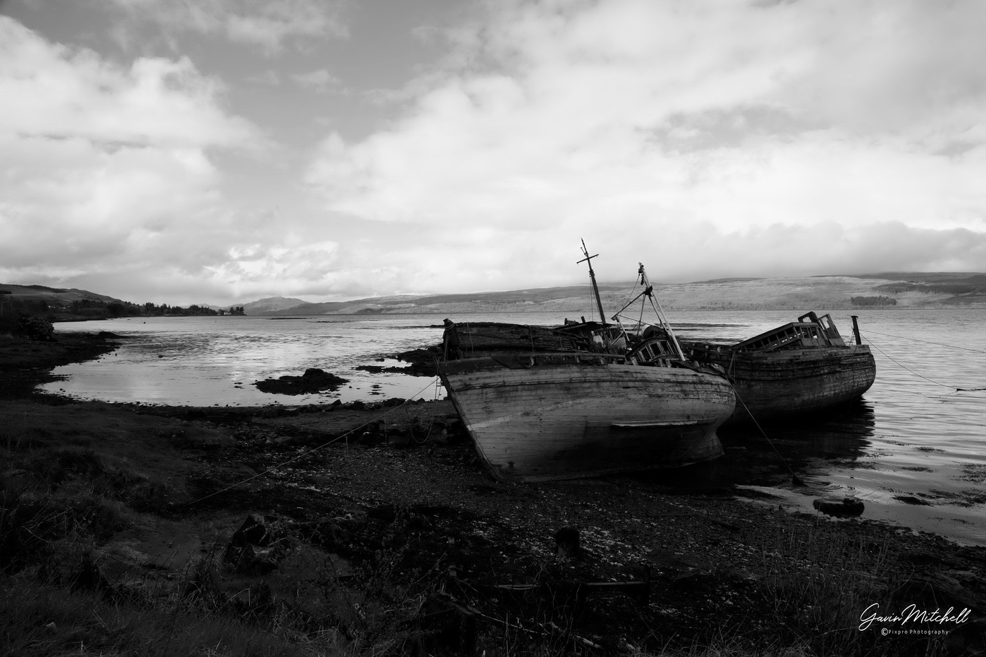 Boats on Mull