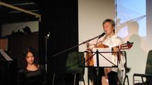 «Музыкальный мост с Востока на Запад» ( Mannheim Morgen , Germany )