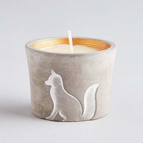 ST. EVAL Winter Thyme, Winter Wildlife Fox Candle